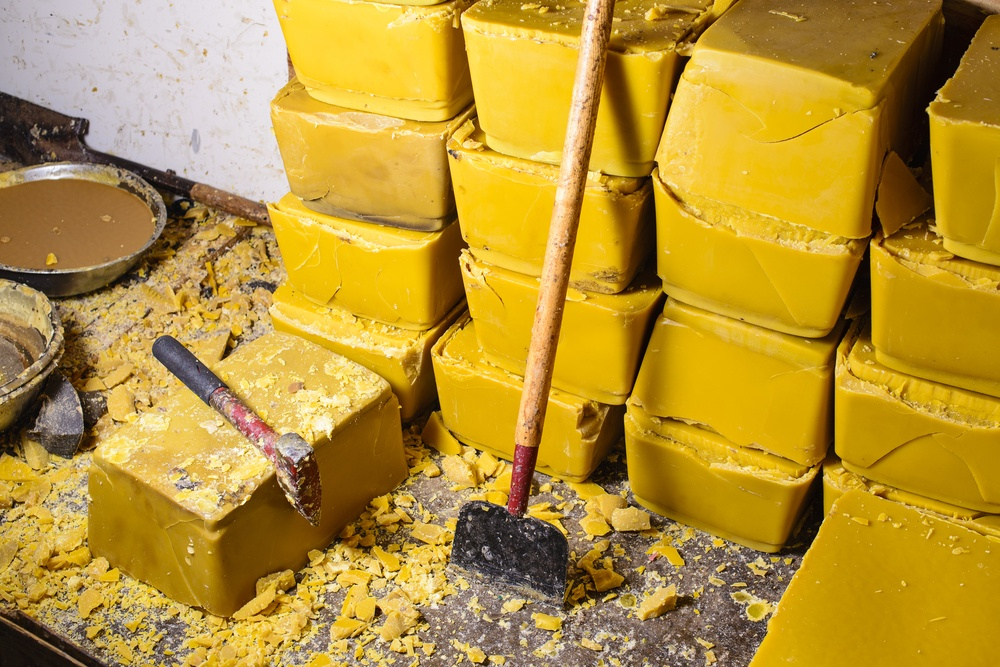 The price of beeswax
