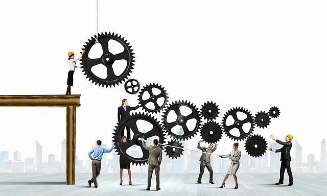 Conceptual image of businessteam working cohesively. Interaction and unity-1.jpeg